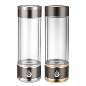 Hydrogen rich water bottle